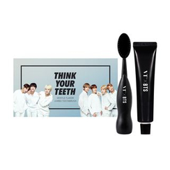 VT - VTxBTS Think Your Teeth Jumbo Kit Black: Toothbrush 1pc + Toothpaste 50g + Photocard 7pcs