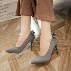 YOUIN - Faux-Suede Stilettos