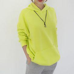 DANI LOVE - Hooded Colored Sweatshirt
