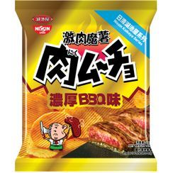 Nissin - Koikeya Nikumucho Rich Barbecue Flavour Potato Chips 25g