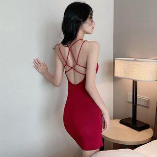 MISMode - Strappy Mini Bodycon Dress