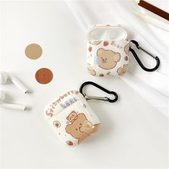 Make Workshop - Bear Print AirPods Earphone Case Skin