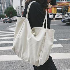 Youme - 純色帆布手提袋