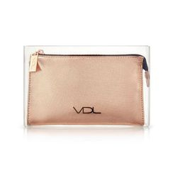 VDL - Gold Makeup Pouch (Gold Crush Holiday Collection 2018)