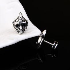 Prushia(プルシア) - Skeleton Plug Earring