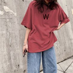 Sand Martin(サンドマーティン) - Printed Short-Sleeve T-Shirt