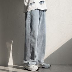 POSI - Crop Straight Fit Jeans