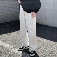 Shineon Studio - 纯色直筒牛仔裤