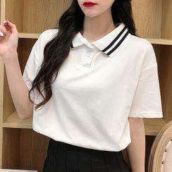 Cloud Nine - Short-Sleeve Polo Shirt