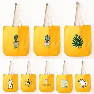 Cady - Print Canvas Tote Bag (various design)
