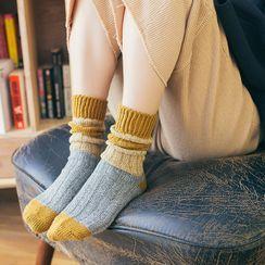 Furana(フラナ) - Color Block Socks