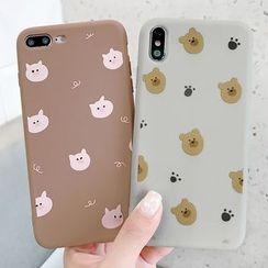 Mobby - Animal Print Mobile Case - iPhone XS Max / XS / XR / X / 8 / 8 Plus / 7 / 7 Plus / 6s / 6s Plus