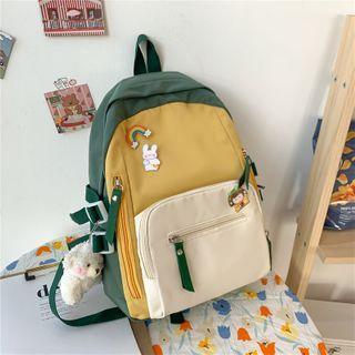 Gokk(ゴック) - Color Block Lightweight Backpack