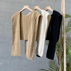 YOYO - Cable Knit Shawl