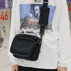 Carryme(キャリーミー) - Nylon Mini Crossbody Bag