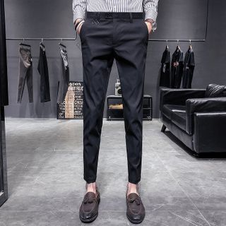 Andrei - Cropped Tapered Dress Pants