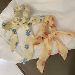 JAMIEL - Flower Bow Scrunchie