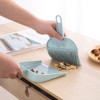 MyHome - Set: Plastic Mop + Dustpan