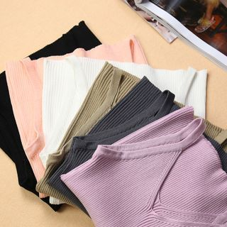 Greton - Ribbed Crop Camisole Top