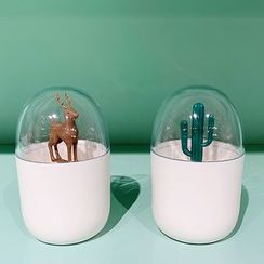 Swan Story - Deer / Cactus Toothpick Holder