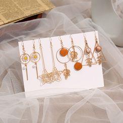 Gold Beam - Alloy Dangle Earring (various designs)