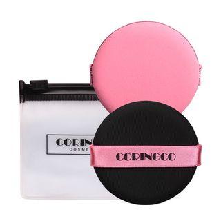 CORINGCO - Pink Air Cushion Puff Set