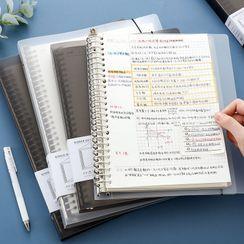 SOONERGO(スーナーゴー) - A4 / A5 / B5 Loose Leaf Document Folder / Refill Paper / Set