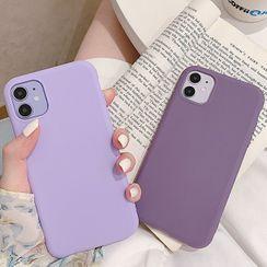 Chatarine - 纯色手机保护套 - iPhone 11 Pro Max / 11 Pro / 11 / SE / XS Max / XS / XR / X / 8 / 8 Plus / 7 / 7 Plus / 6s / 6s Plus