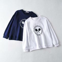 Osion - Tennis Embroidered Pullover