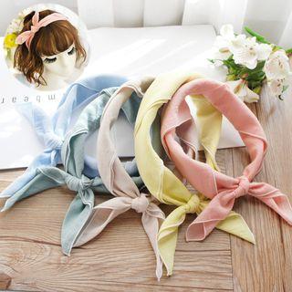 Rosemarie - Kids Plain Headband / Neck Scarf