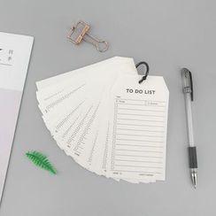 MissYou - Schedule Memo Card