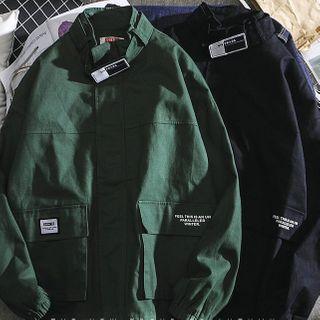 Dragondra - Lettering Zip Jacket