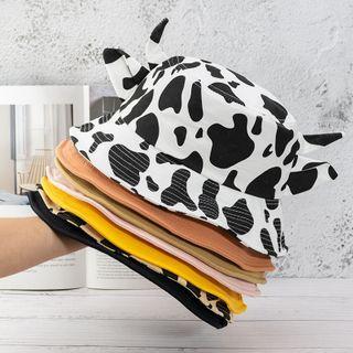 riverain(リヴェラン) - Cow Horn Bucket Hat