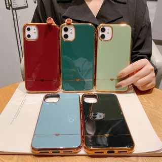 Wild Pony - Heart Print Phone Case for  iPhone 6S / 6S Plus / 7 / 7 Plus / 8 / 8 Plus / X / XS / XR / XS Max / 11 /11 Pro / 11 Pro Max