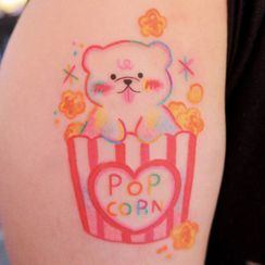 METZ - Bear Waterproof Temporary Tattoo