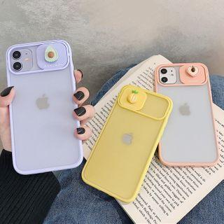 Scotmila - 推拉立体水果手机壳 - iphone 7 / 8 /7plus / 8plus / X / XS / XS Max / XR /11/11 Pro/11 Pro Max
