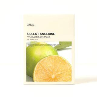 Anua - Green Tangerine Vita Dark Spot Mask Set
