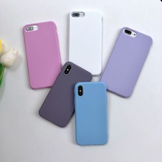 Pixel Dream - Plain Mobile Case - iPhone 11 / 11 Pro / 11 Pro Max / XS / XS Max/ XR / X / 8 / 8 Plus / 7 / 7 Plus / 6S / 6S Plus / 5 / 5S / SE