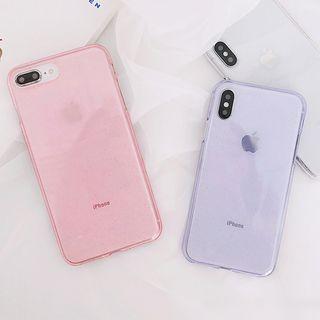 Primitivo - Transparent Phone Case - iPhone 6 / 6 Plus / 7 / 7 Plus / 8 / 8 Plus / X /SE