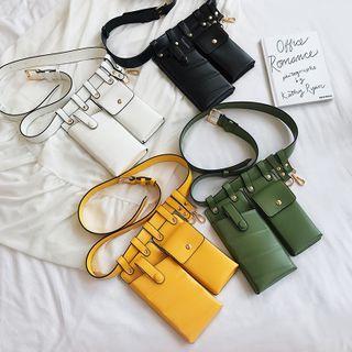 Mulgam - Faux-Leather Belt Bag