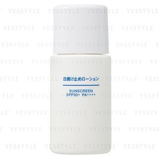 MUJI - Sunscreen Lotion SPF 50+ PA++++