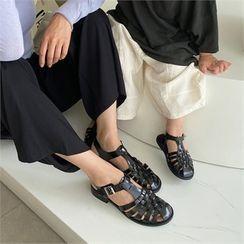 MONOBARBI(モノバービ) - KIDS / WOMEN Weaving Patent Sandals