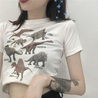 Windflower - Printed Short-Sleeve T-Shirt