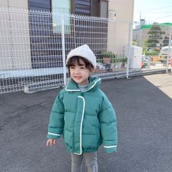 Blue Papa - 童装配色边夹棉外套