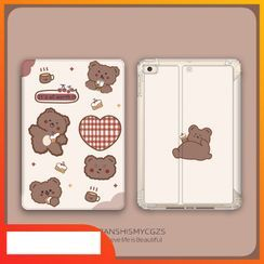 Roccia(ロッチャ) - Bear Print iPad Case