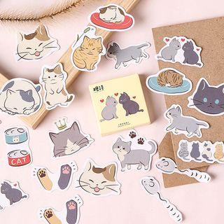 Milena - 猫咪印花贴纸 (多款设计)