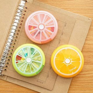 Cutie Bazaar - 水果形药片分装盒