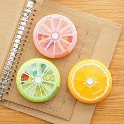 聚可愛 - 水果印花藥盒