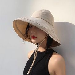 Raconteur - Plain Wide Brim Bucket Hat