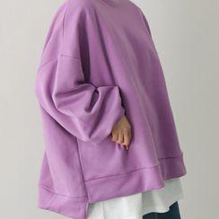 PPGIRL - Dip-Back Oversized Pullover